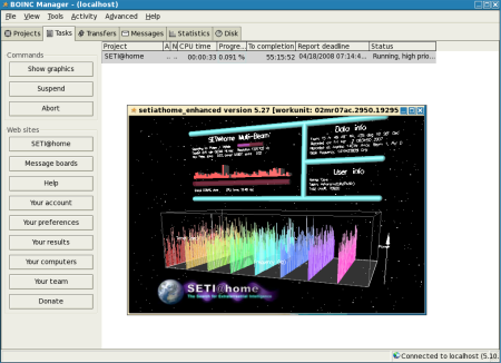 BOINC astronomy project